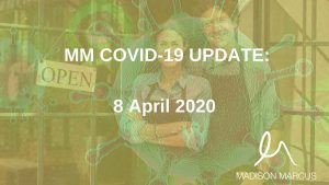 COVID-19 UPDATE 8 APRIL: SUPPORT AVAILABLE TO NSW SMALL BUSINESSES